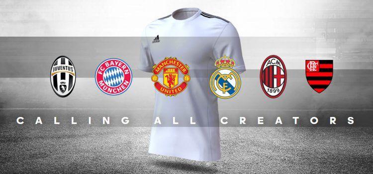 Crea la terza maglia adidas 2017-18