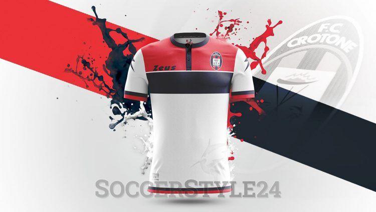 Seconda maglia Crotone 2016-2017 bianca Zeus