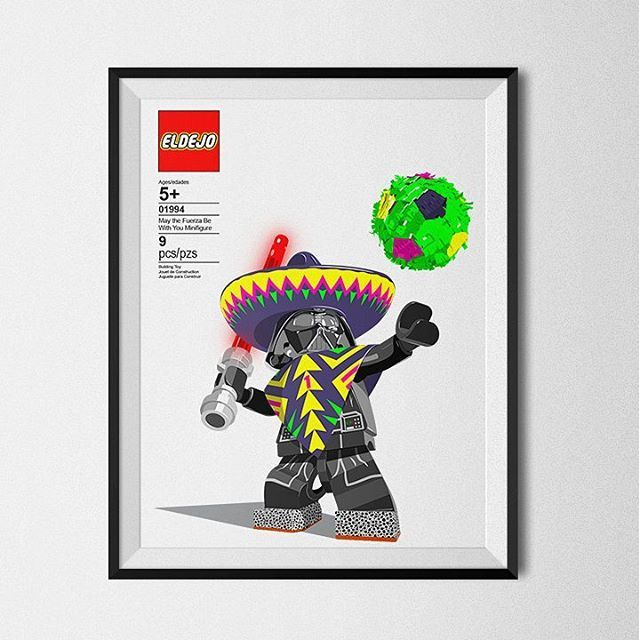 Darth Vader Lego Messico 1994