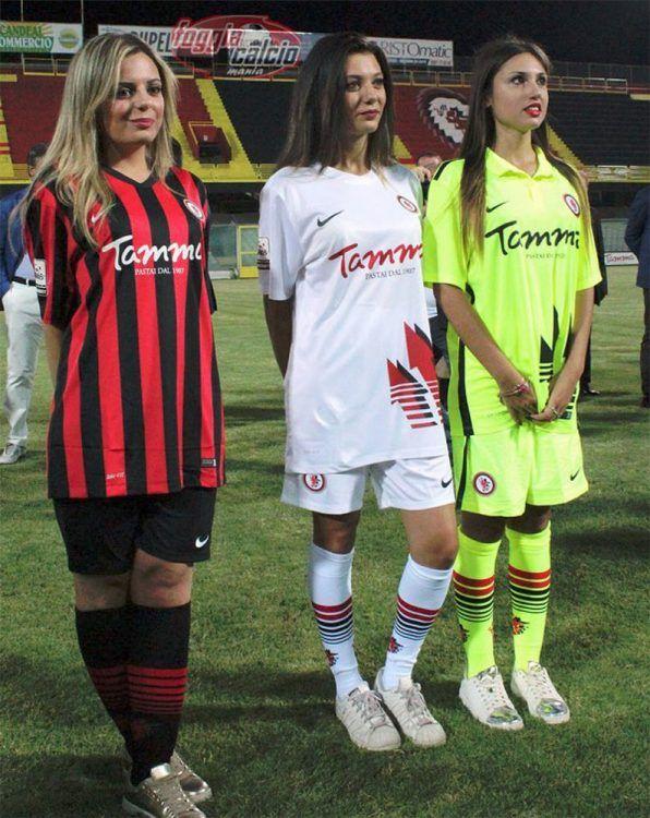 Le maglie del Foggia 2016-2017 Nike