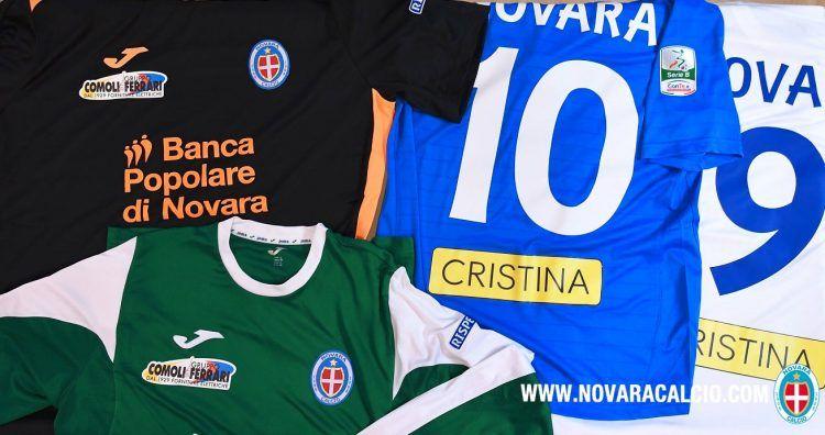 Font nomi e numeri Novara 2016-2017