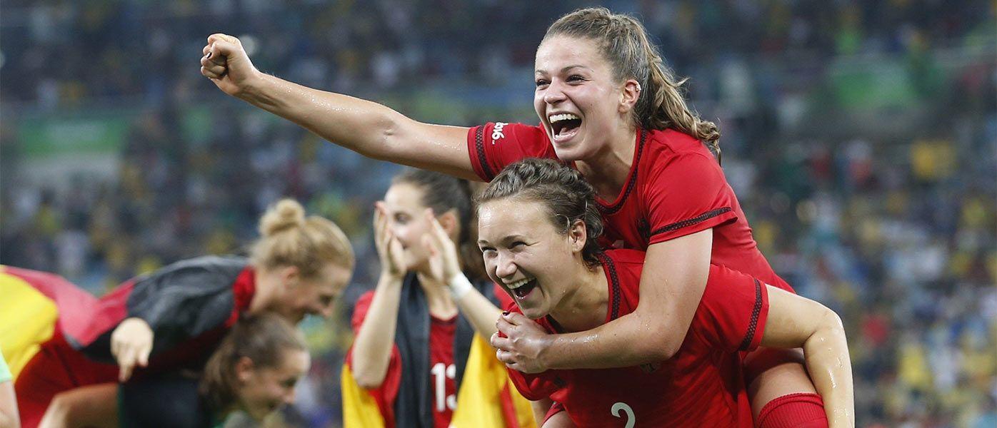 Festa Germania oro calcio donne