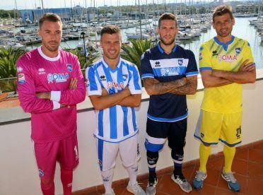 I kit del Pescara Calcio 2016-17