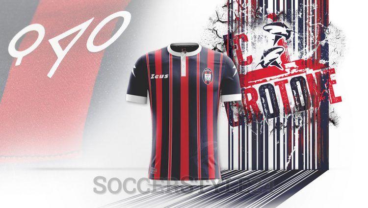 Maglia Crotone 2016-2017 Serie A