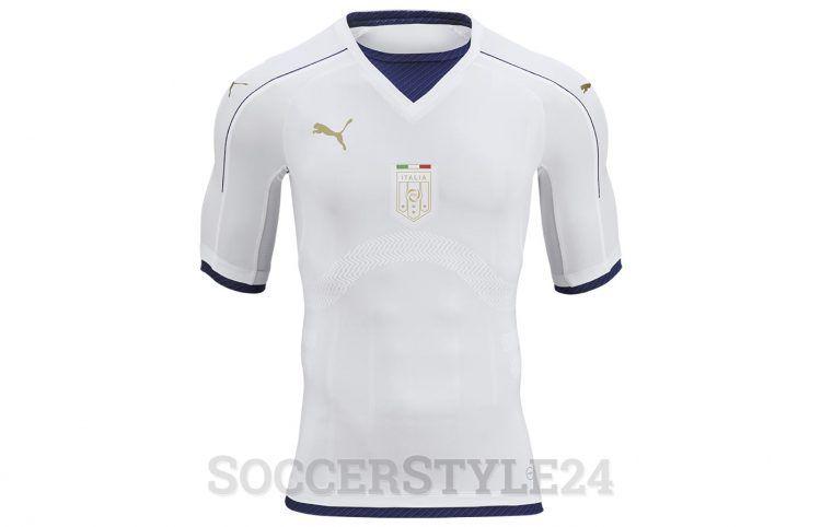 Seconda maglia Italia 2016-2017 Puma