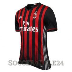 Maglia Milan 2016-2017 rossonera