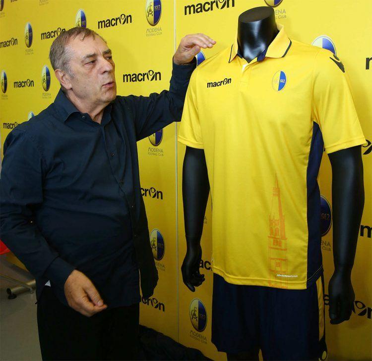 Maglia Modena 2016-2017 Macron