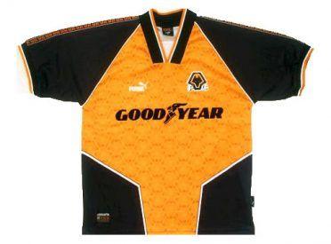 Maglia Wolves 1996-1998 Puma