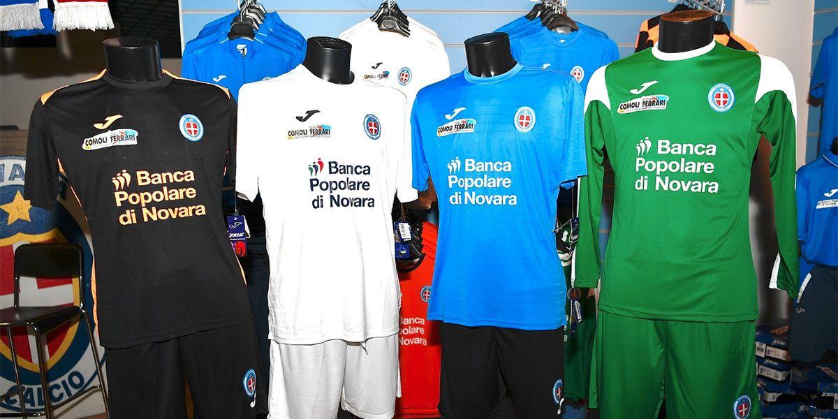 Maglie Novara 2016-2017 Joma