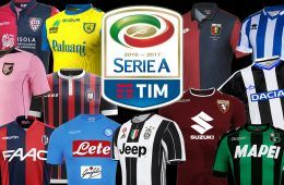 Maglie Serie A 2016-2017