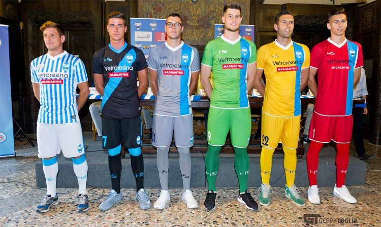 Maglie SPAL 2016-2017 HS Football