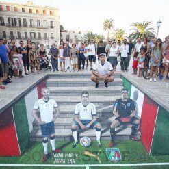 Murales 3D maglia Italia away 2016-17
