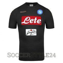 SSC Napoli terza maglia nera 2016-17
