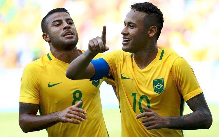 Neymar Brasile Rio 2016