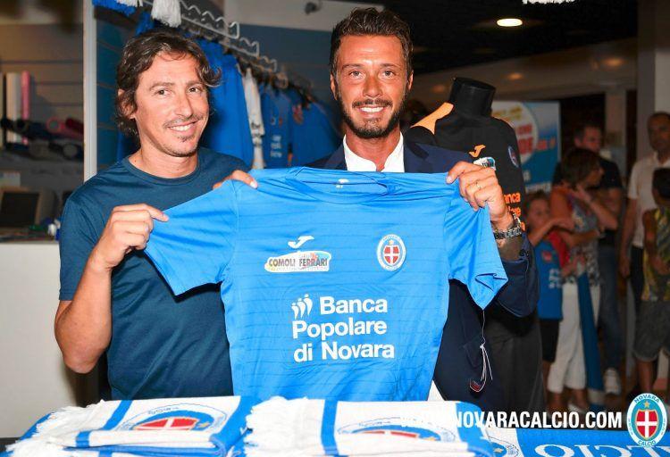 Maglia Novara 2016-2017 azzurra