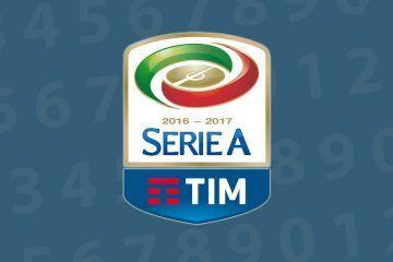 Numeri Serie A 2016-2017