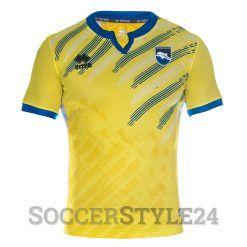 Pescara seconda maglia gialla 2016-17