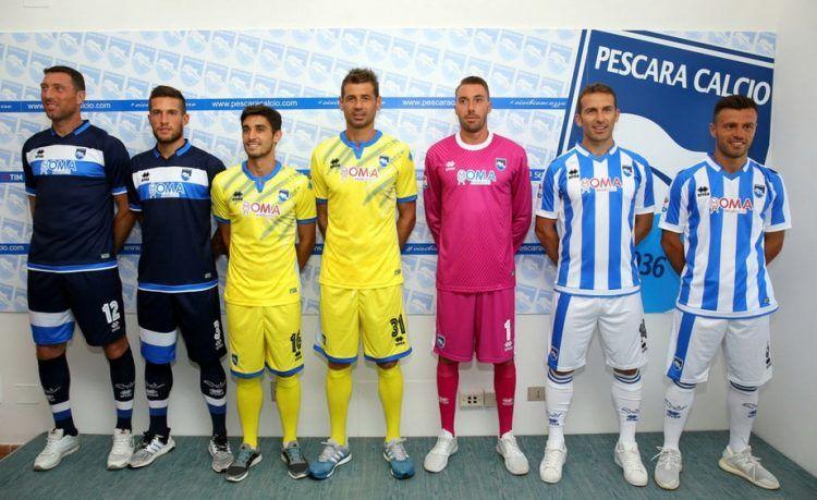 Maglie Pescara 2016-2017 Serie A