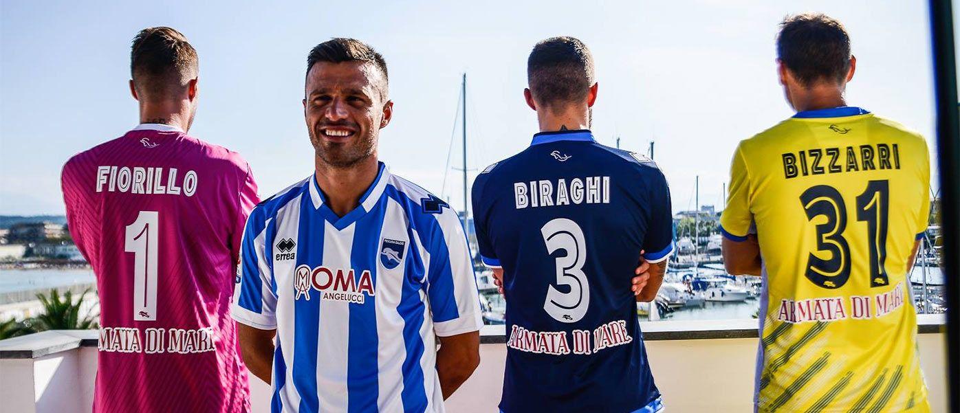 Presentazione maglie Pescara Calcio 2016-2017