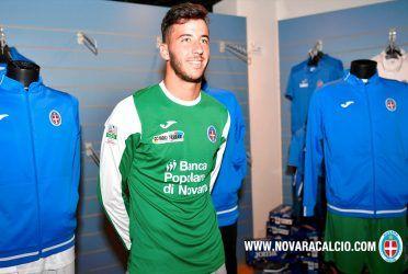 Maglia Novara verde portiere 2016-2017