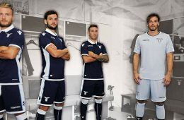Presentazione seconda maglia Lazio 2016-17