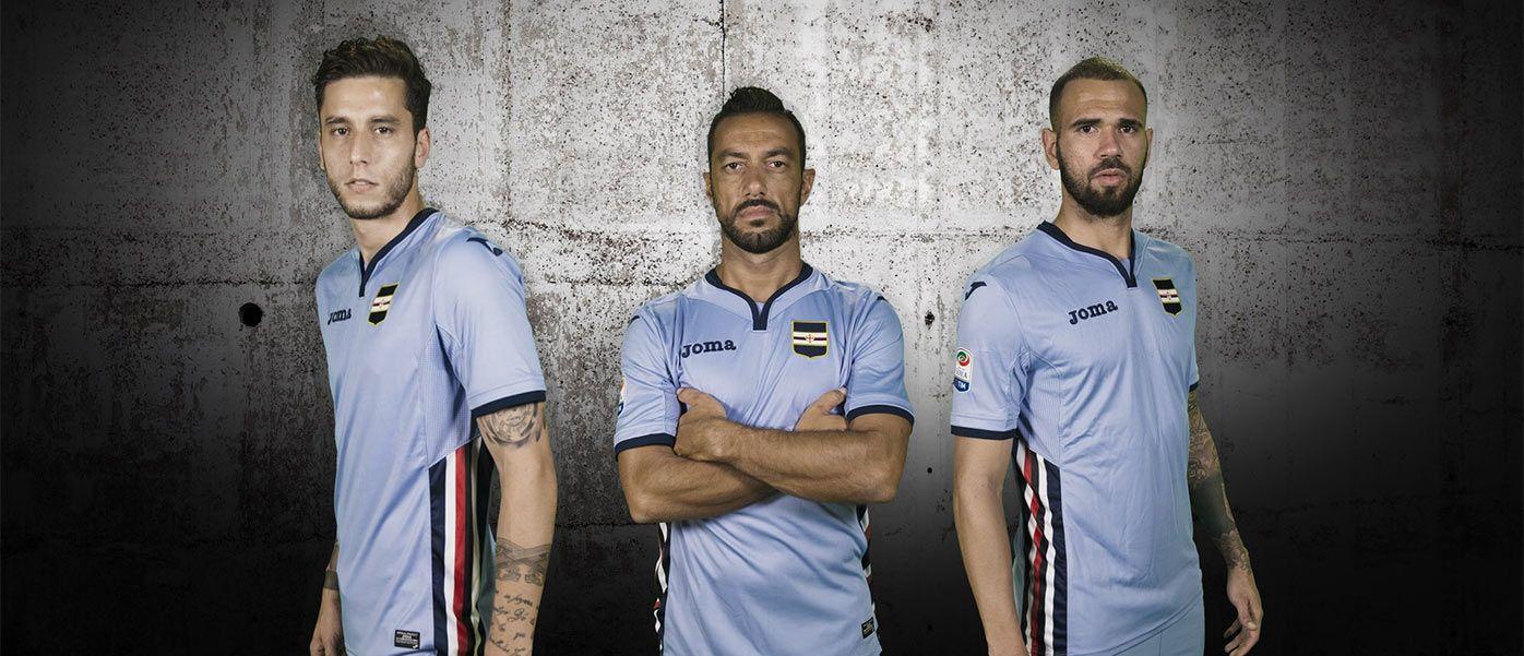 Presentazione terza maglia Sampdoria 2016-17