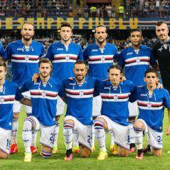 Formazione Sampdoria contro il Bassano, Coppa Italia