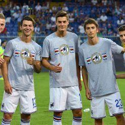 T-shirt celebrativa Sampdoria 70° Anniversario