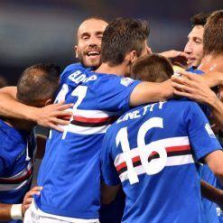 Font nomi numeri Sampdoria 70 anni