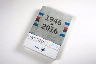 1946-2016 box maglia Sampdoria 70 anni