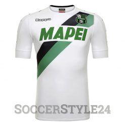 Sassuolo maglia away bianca 2016-17