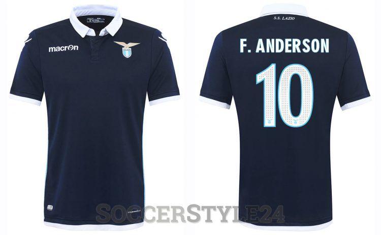Seconda maglia Lazio 2016-2017 F.Anderson
