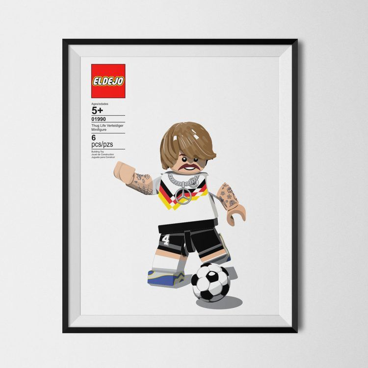 Thug Life Lego Germania 1990