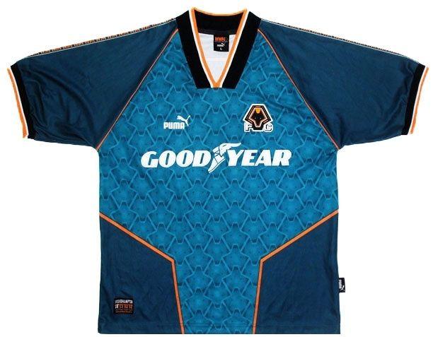Wolves maglia away 1996-98 Puma