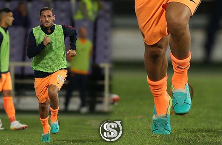 Francesco Totti (Roma) - Nike Tiempo Legend VI custom
