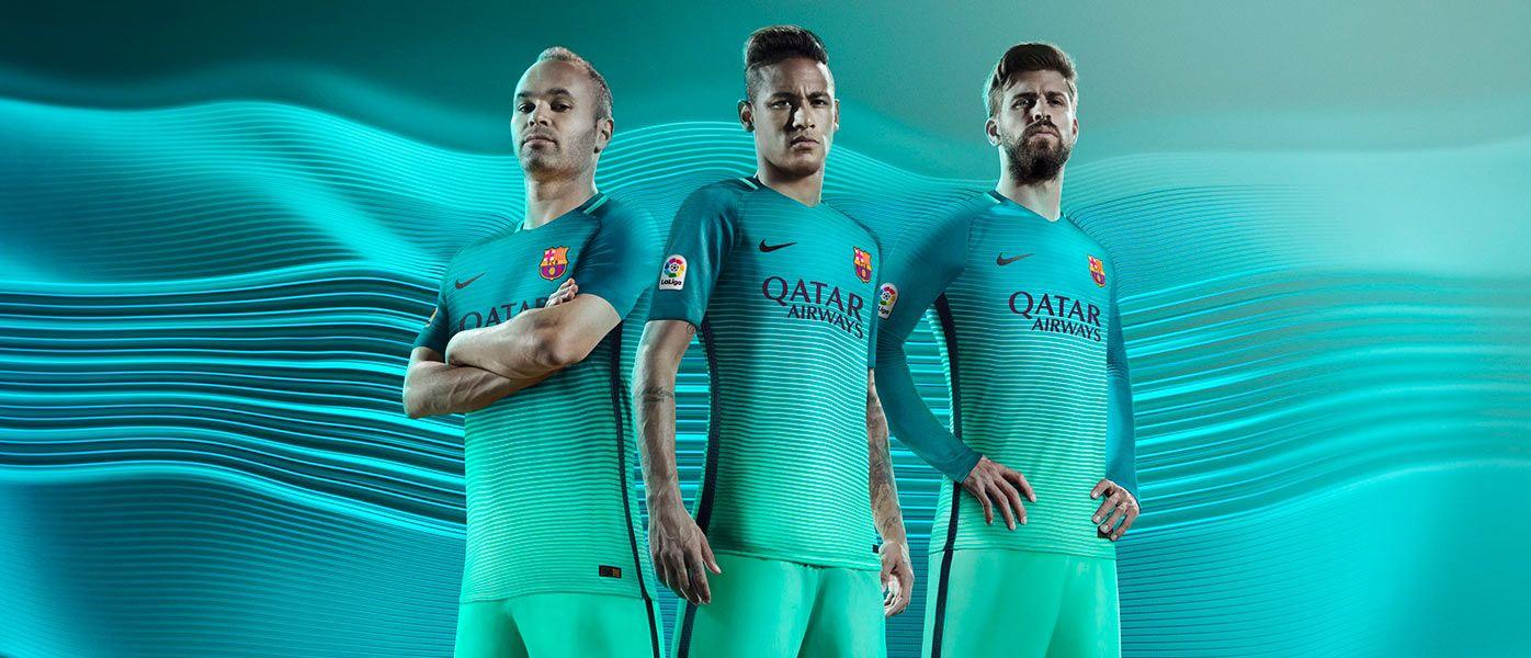 Barcellona terza divisa 2016-2017