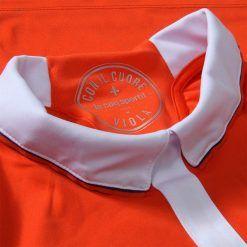 Colletto bianco Fiorentina terza maglia