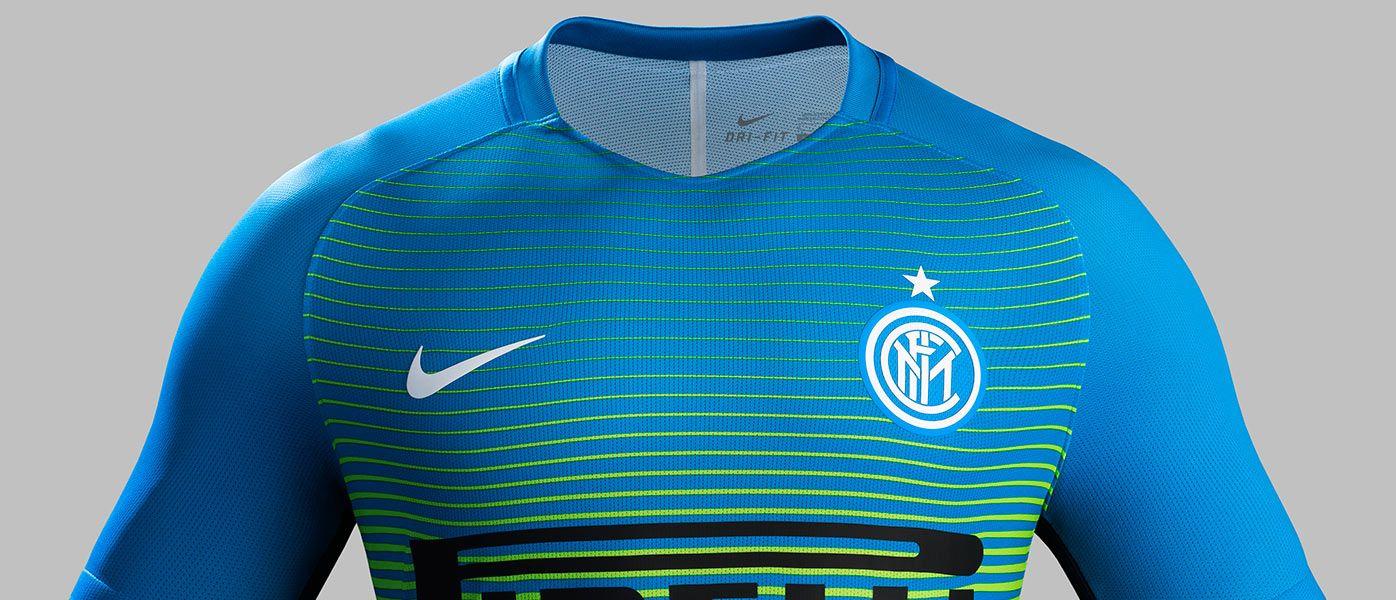 Presentazione terza maglia Inter 2016-17