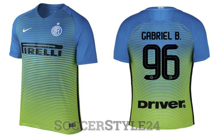 Terza maglia Inter 2016-2017 Nike
