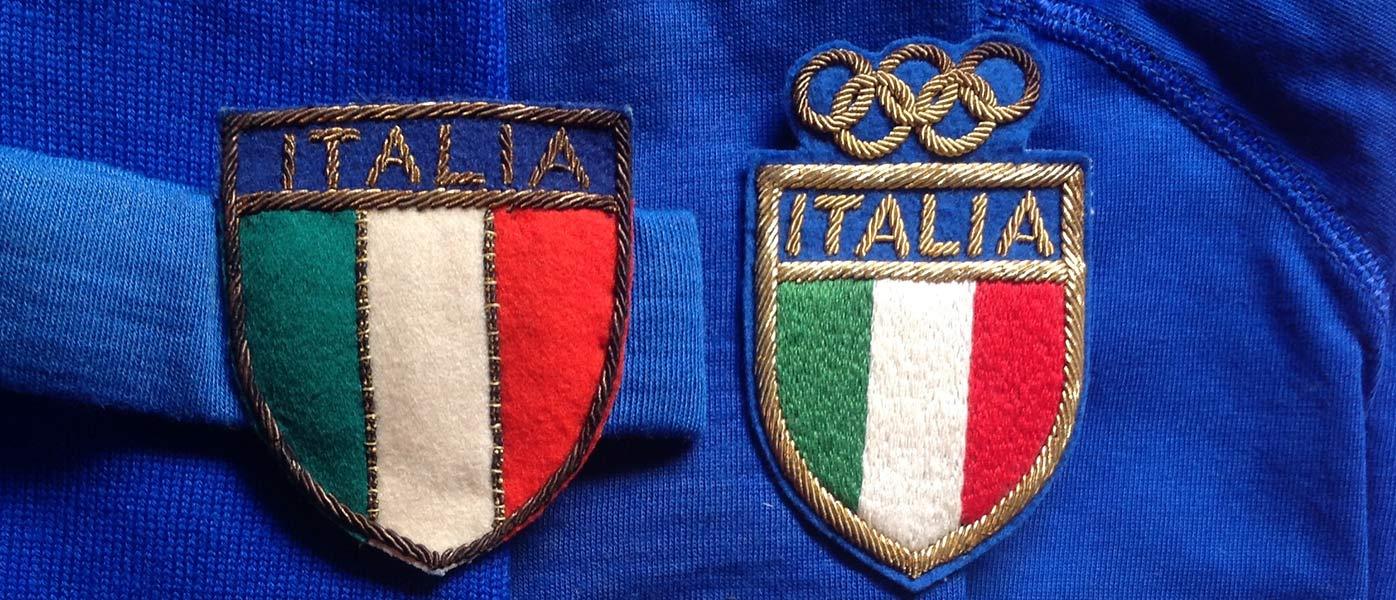 Stemma tricolore maglia Italia