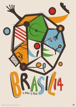 Poster Mondiali Brasile 2014