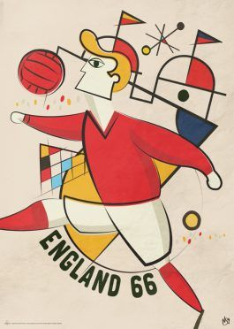 Poster Mondiali Inghilterra 1966