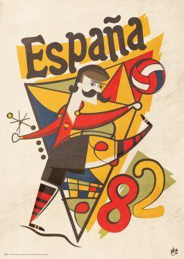 Poster Mondiali Spagna 1982