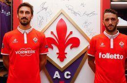 Presentazione terza maglia Fiorentina 2016-17