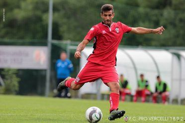 Seconda maglia Pro Vercelli 2016-17 Erreà
