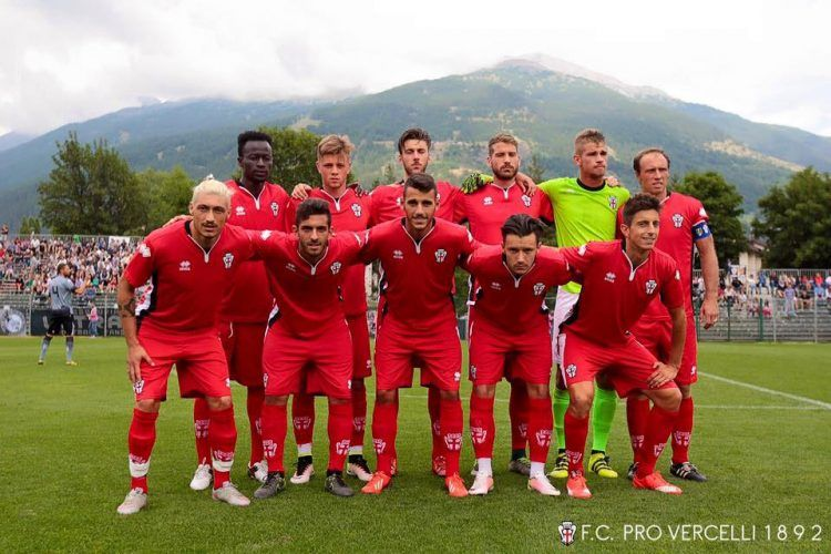 Divisa Pro Vercelli trasferta 2016-2017 rossa