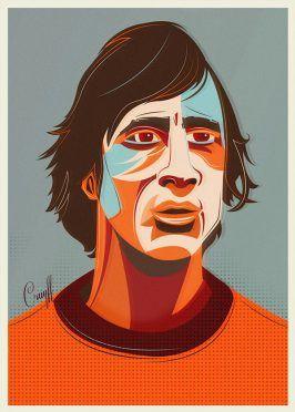 Ritratti Mondiali Johan Cruyff Olanda