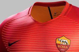 Presentazione terza maglia AS Roma 2016-17