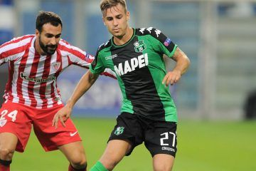 Sassuolo v Athletic Bilbao, Europa League 2016-2017