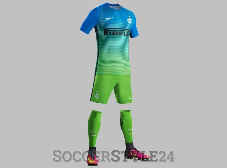 Inter terza divisa 2016-2017 Nike